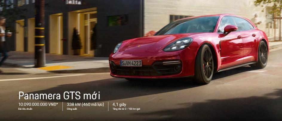 Đánh giá xe Porsche Panamera GTS 2020 nhập khẩu chính hãng