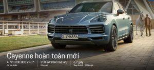Đánh giá xe Porsche Cayenne 2020 nhập khẩu có khuyến mãi